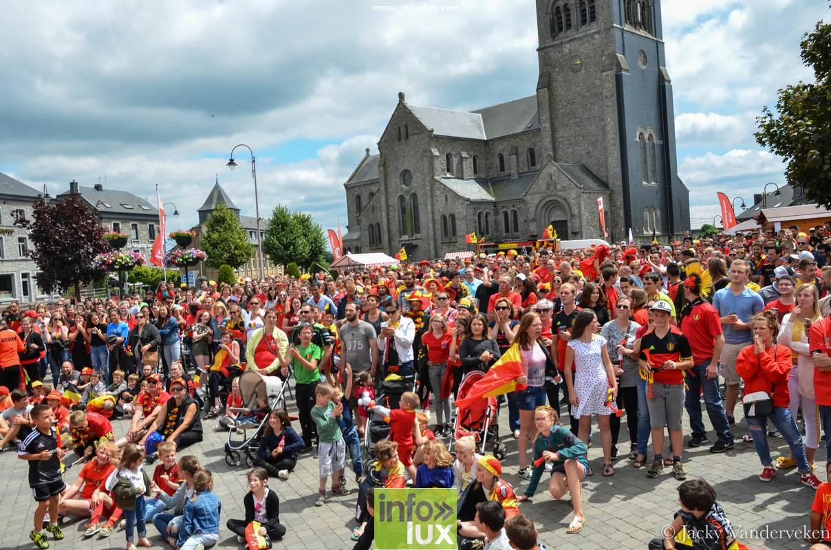 Mondial Belgique à Bertrix sur Ecran Geant – Photos Reportage