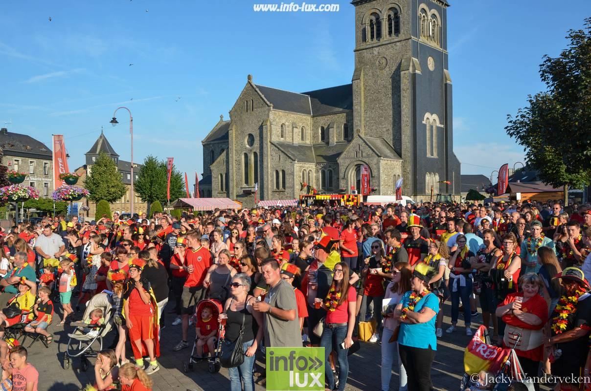 Mondial Belgique - Angletter à Bertrix sur Ecran Geant