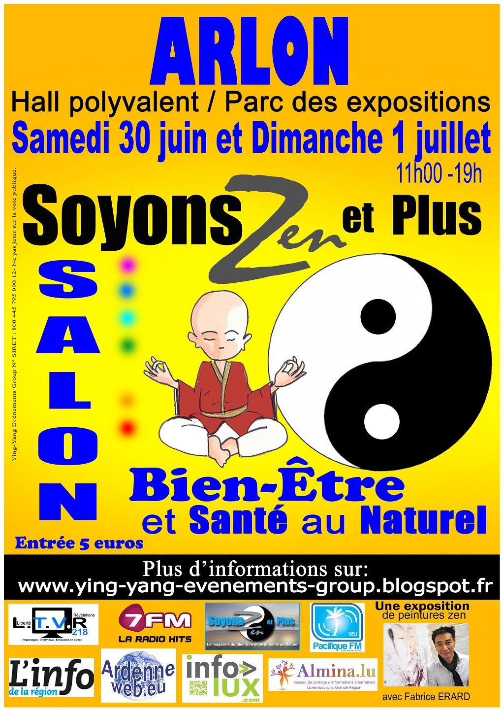 Salon du Bien Etreet de laSanté au Naturel à Arlon