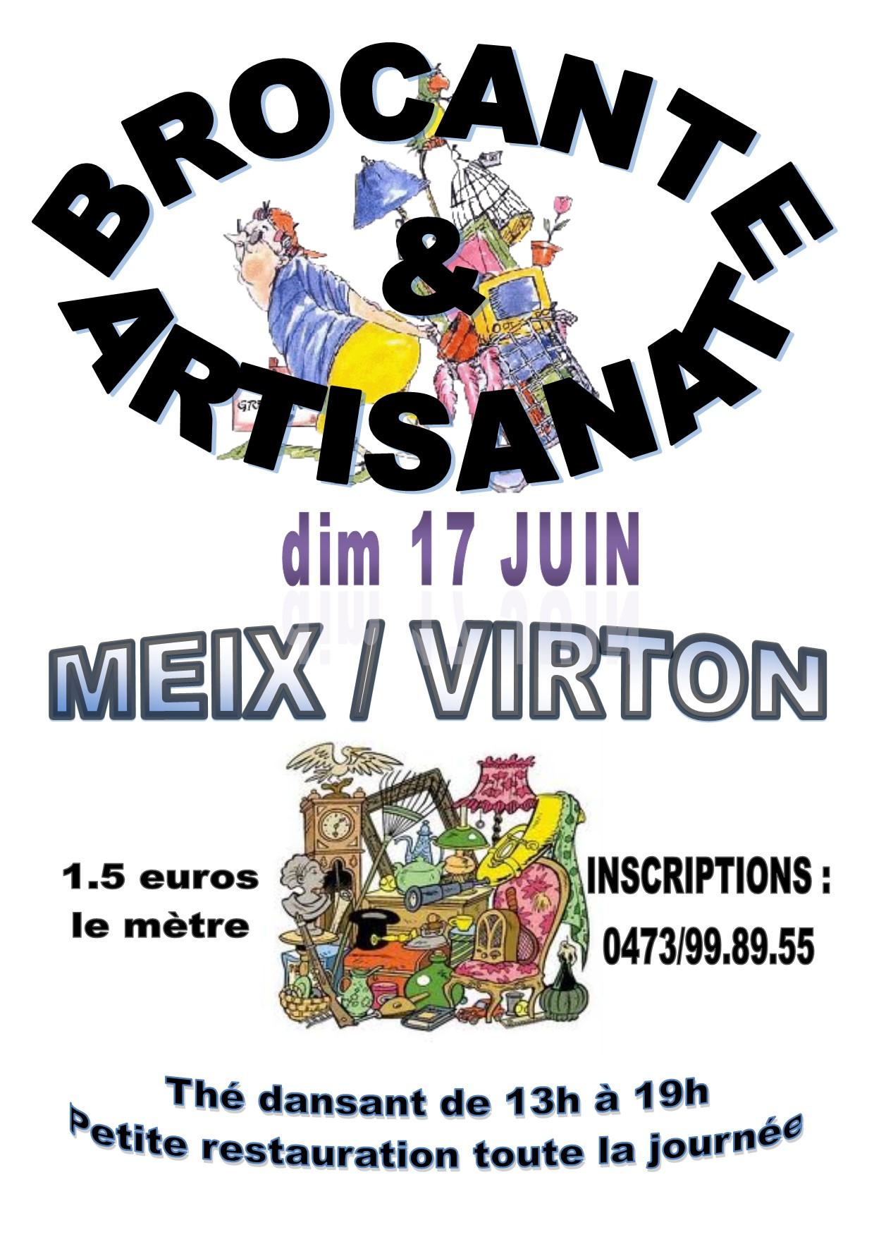Brocantes  Meix devant Virton