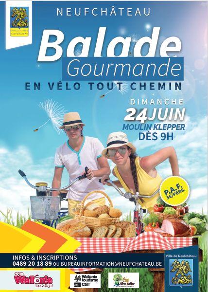 balade VTC à Neufchateau