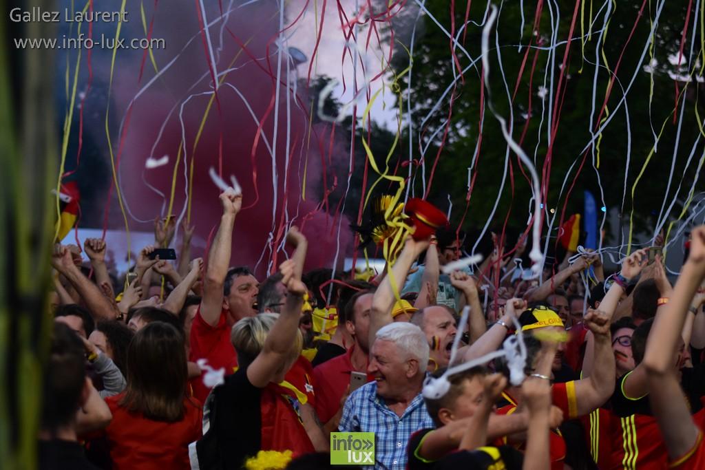finale Belgique – Italie à Saint-Mard Sur Ecran Geant