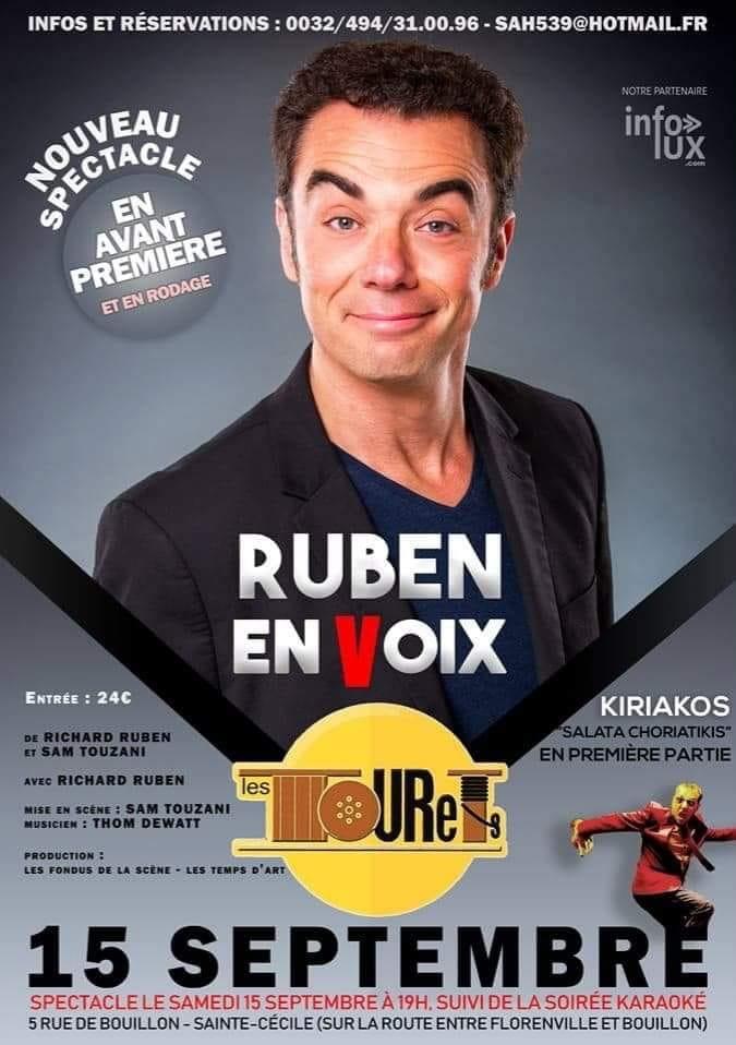 Places de spectacles de Richard Ruben à Florenville