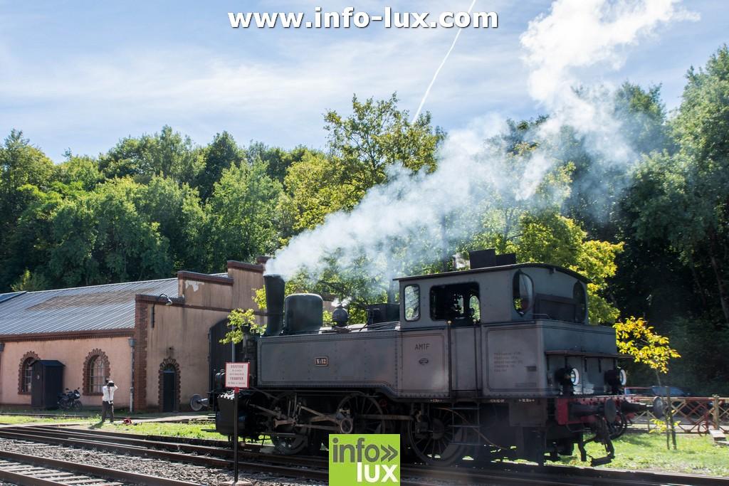 Portes ouvertes train 1900 à Fond de Gras (Luxembourg)