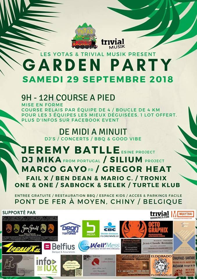 Garden Party à Chiny en Foret de Gaume