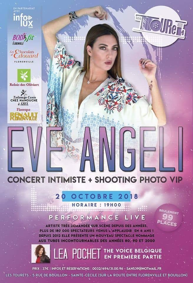 Eve Angeli sera aux Tourets à St Cécile ( Florenville )