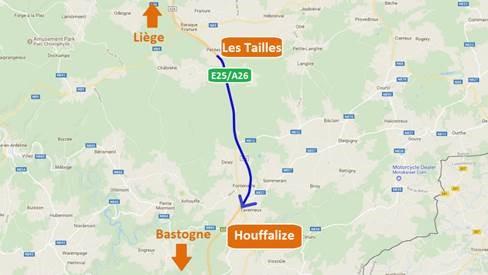 Travaux sur E25 vers Bastogne : Très bonne nouvelle !