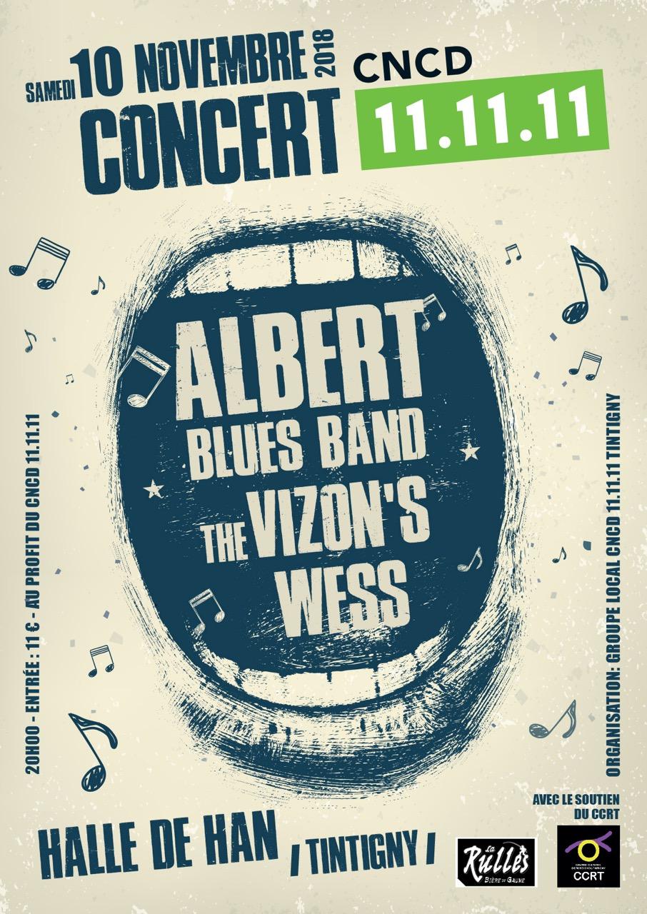 Concert Hall de Han : ALbert Bleus Band