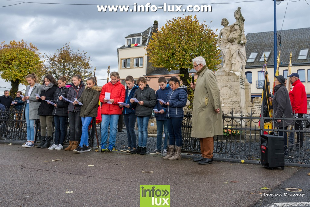Commémorations du 11 novembre à Florenville