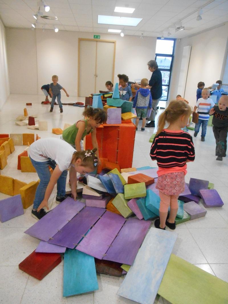 une exposition en construction à Bertrix