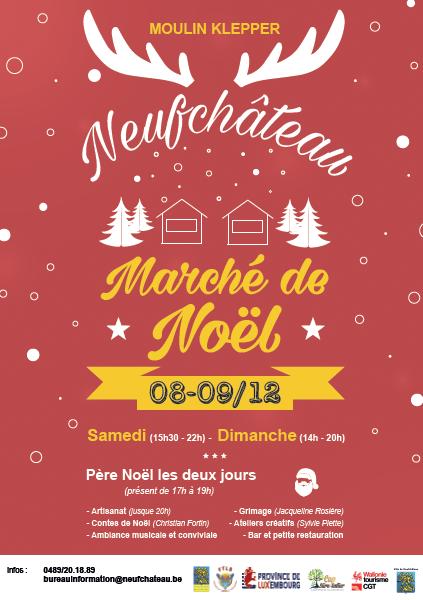 Marché de Noël de Neufchateau
