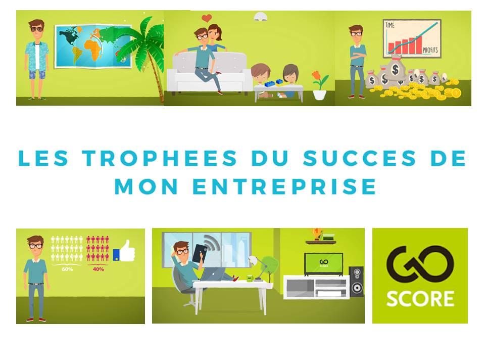Les 4 trophées du succès de mon entreprise : Conférence à Habay