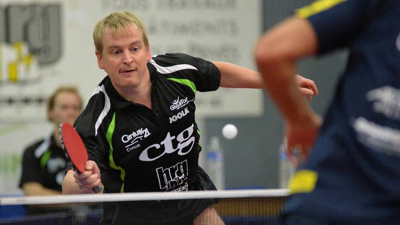 Cédric Merchez représentera la Belgique aux Championnats d'Europe de tennis de table à Budapest.