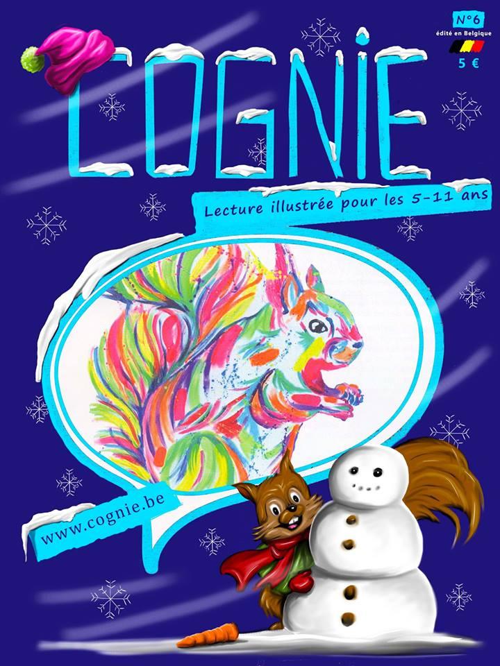 COGNIE : le magazine Gaumais de lectures pour enfants