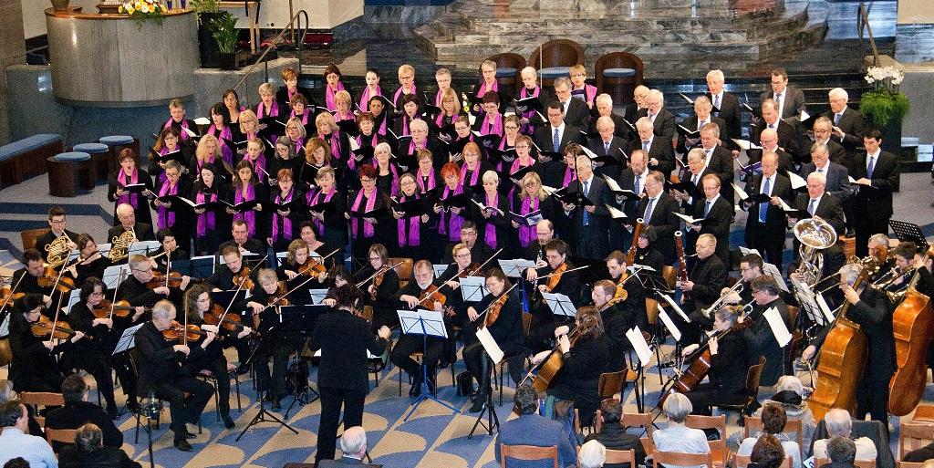 Eglise de Kopstal : concert spirituel Chorale Mixte du Conservatoire  de la Ville de Luxembourg