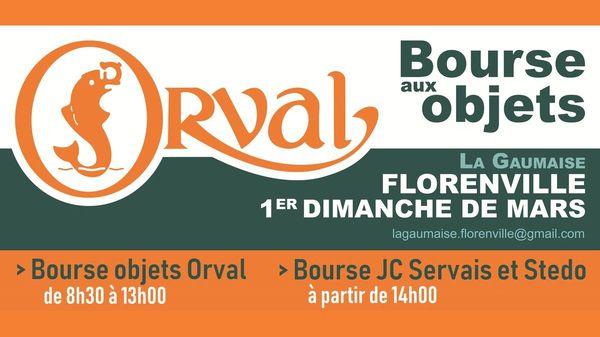 BOURSE AUX OBJETS D'ORVAL: AFFICHE 2019