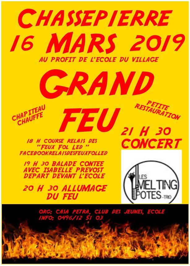 Grand Feu Chassepierre 2019