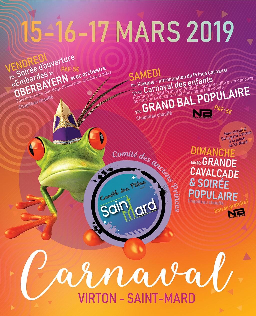 Carnaval de Virton et Saint-Mard 2019