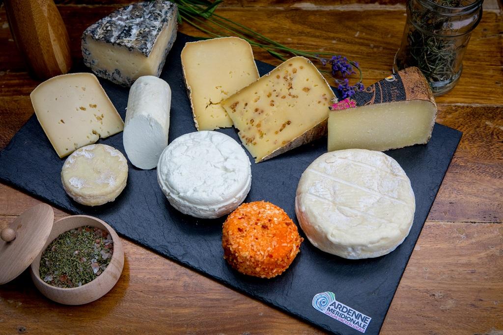 Centre culturel de Bertrix : fromages d'Ardenne