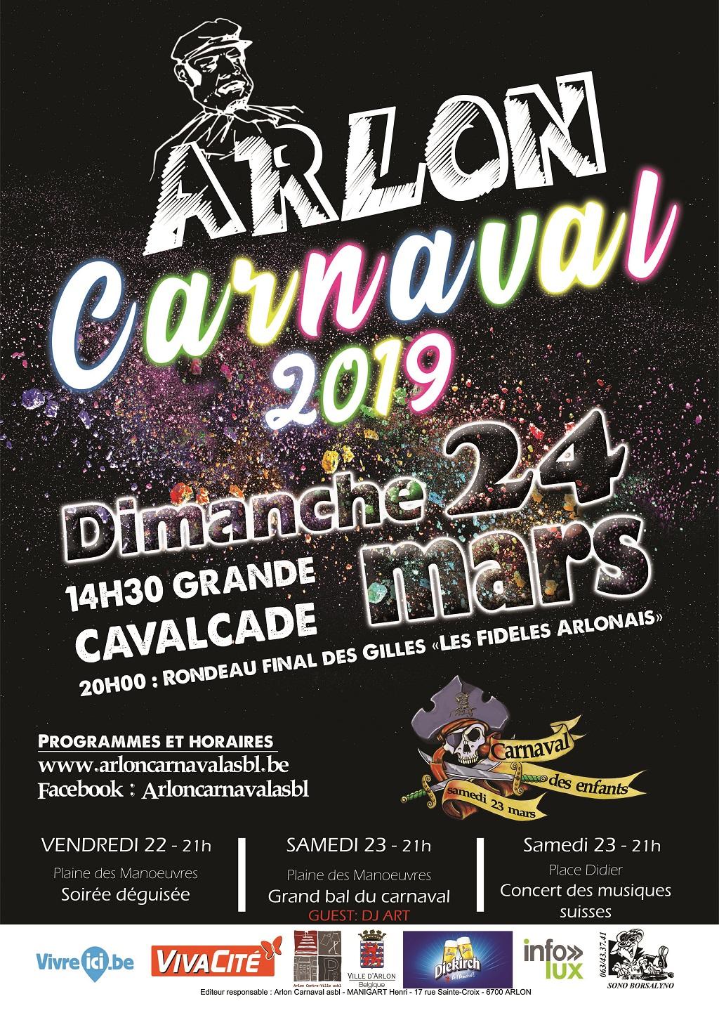 Carnaval   Arlon 2019
