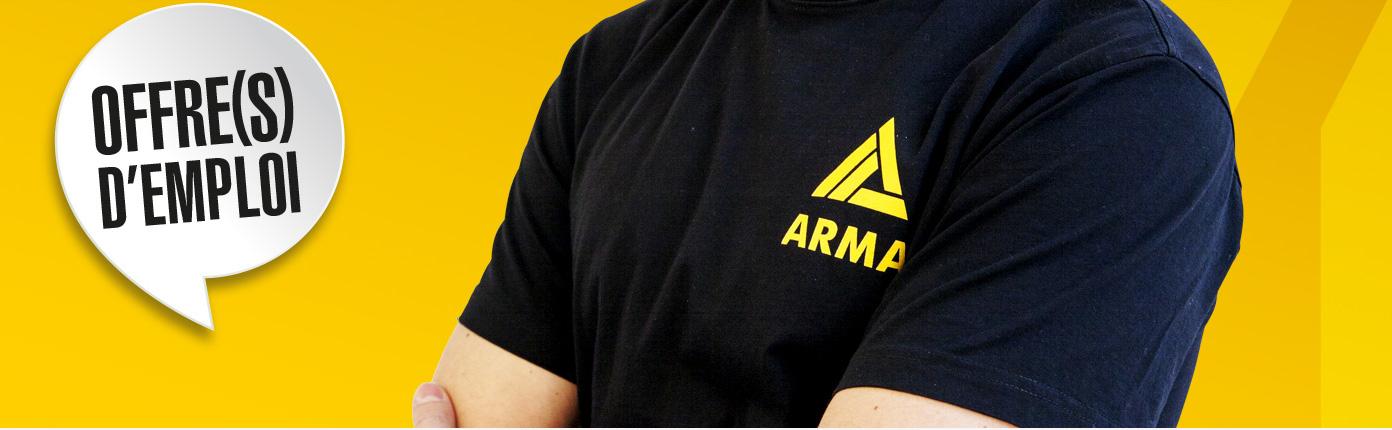 Arma : nous recherchons 1 Responsable Département Outillage