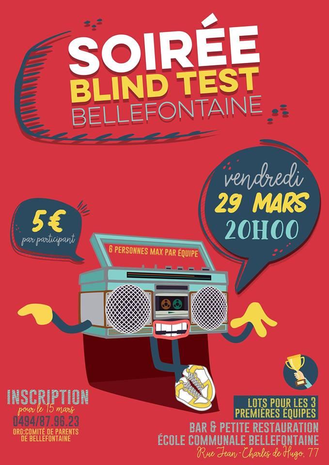 Soirée Blind Test à Bellefontaine