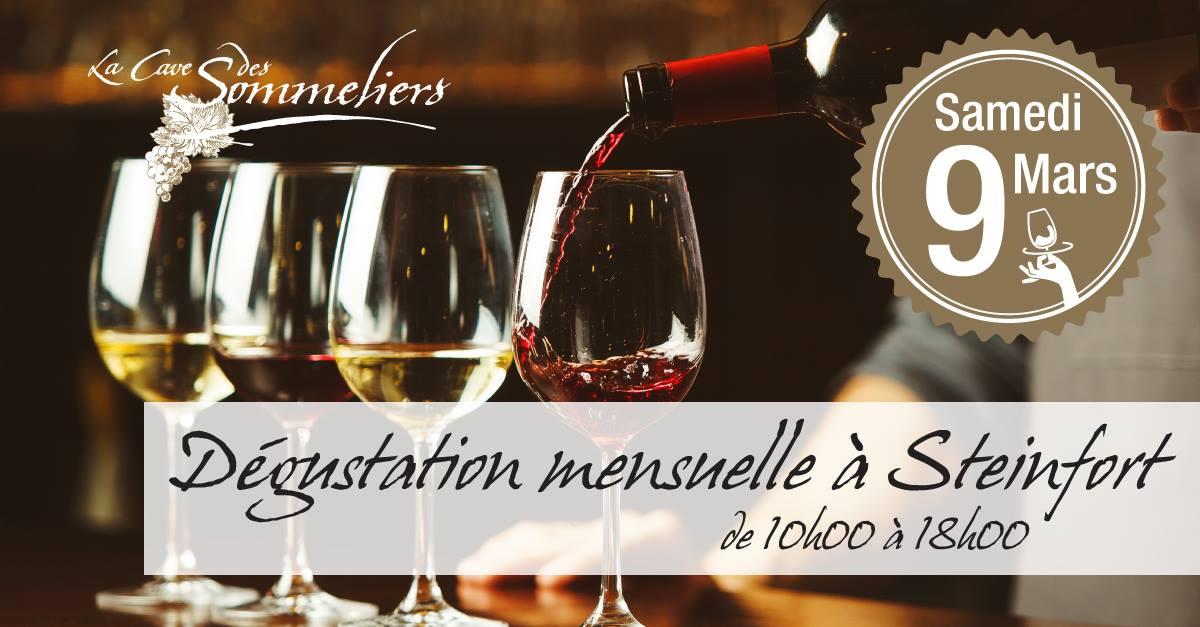 Dégustation de vin à Steinfort