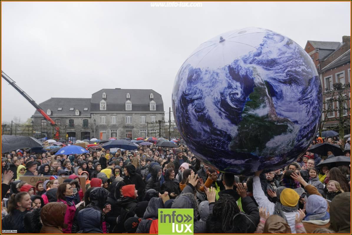 Photos de la grève internationale pour le climat à Marche en Famenne