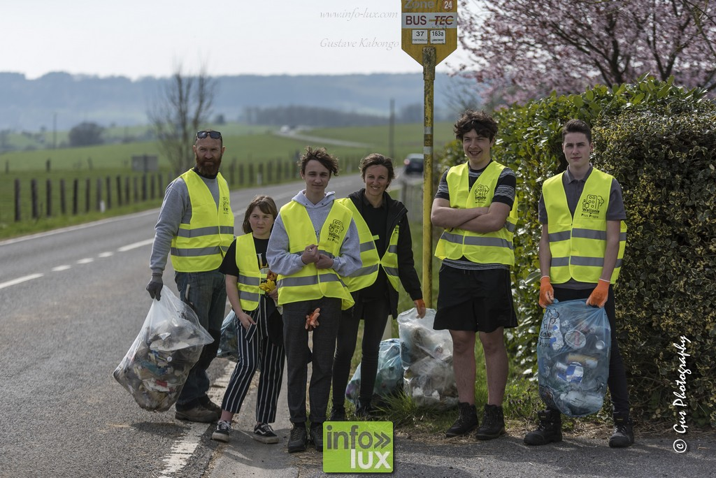 Opération Wallonie Propre: Ramassage d'ordures à Muno