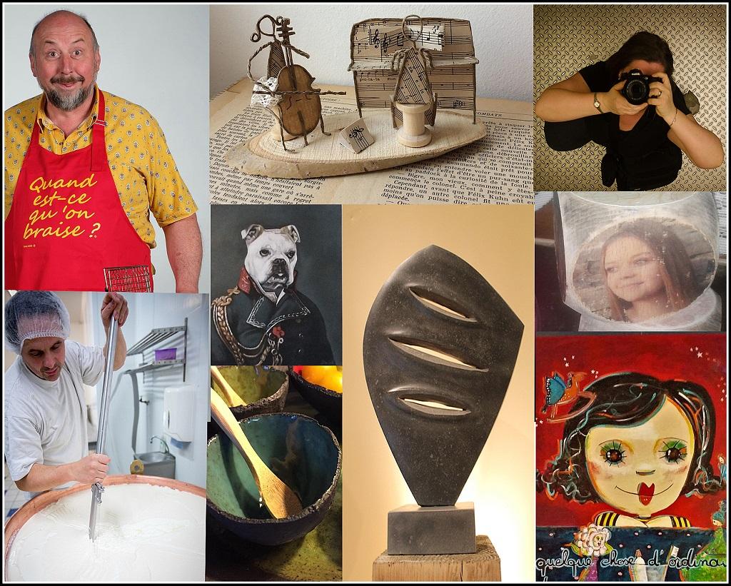 Artistes et Artisans à  Bertrix