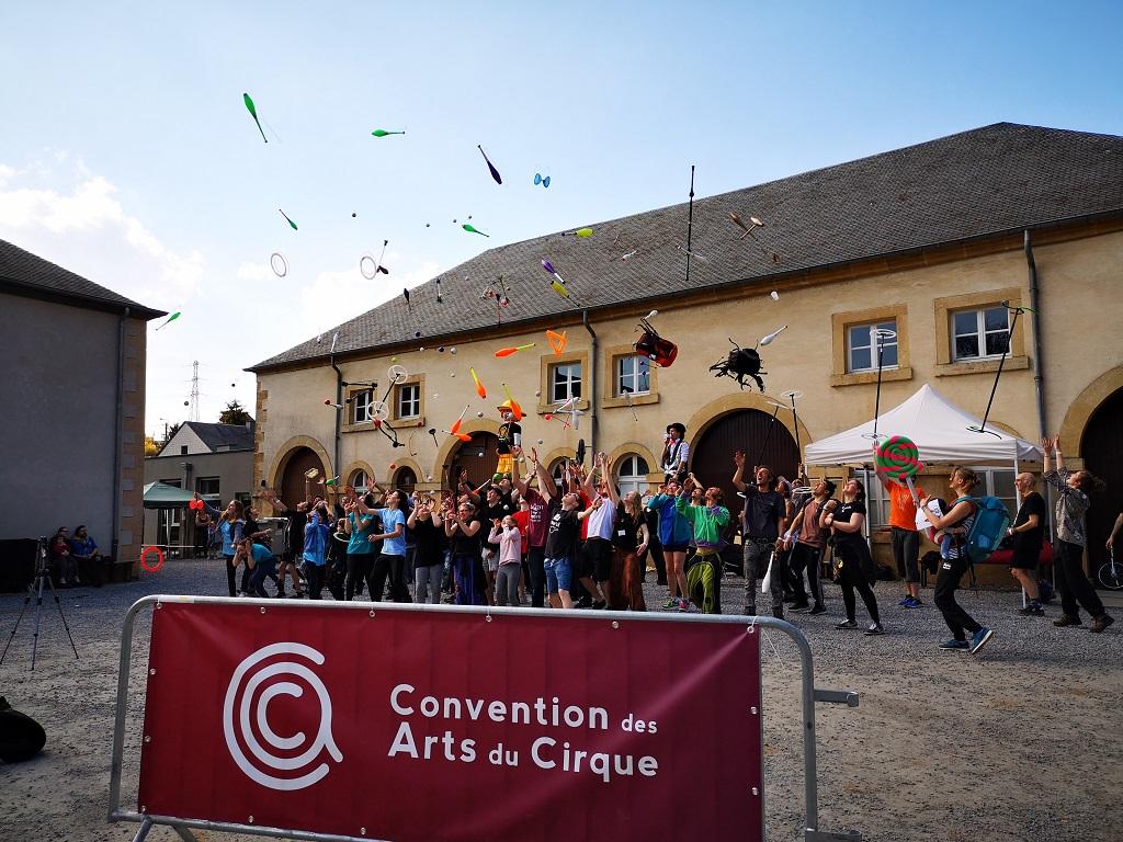 Plus de 300 personnes pour la première Convention des Arts du Cirque à Aubange !