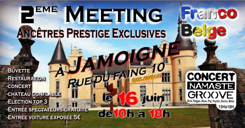 Meeting franco-belge : Château du Faing à Jamoigne