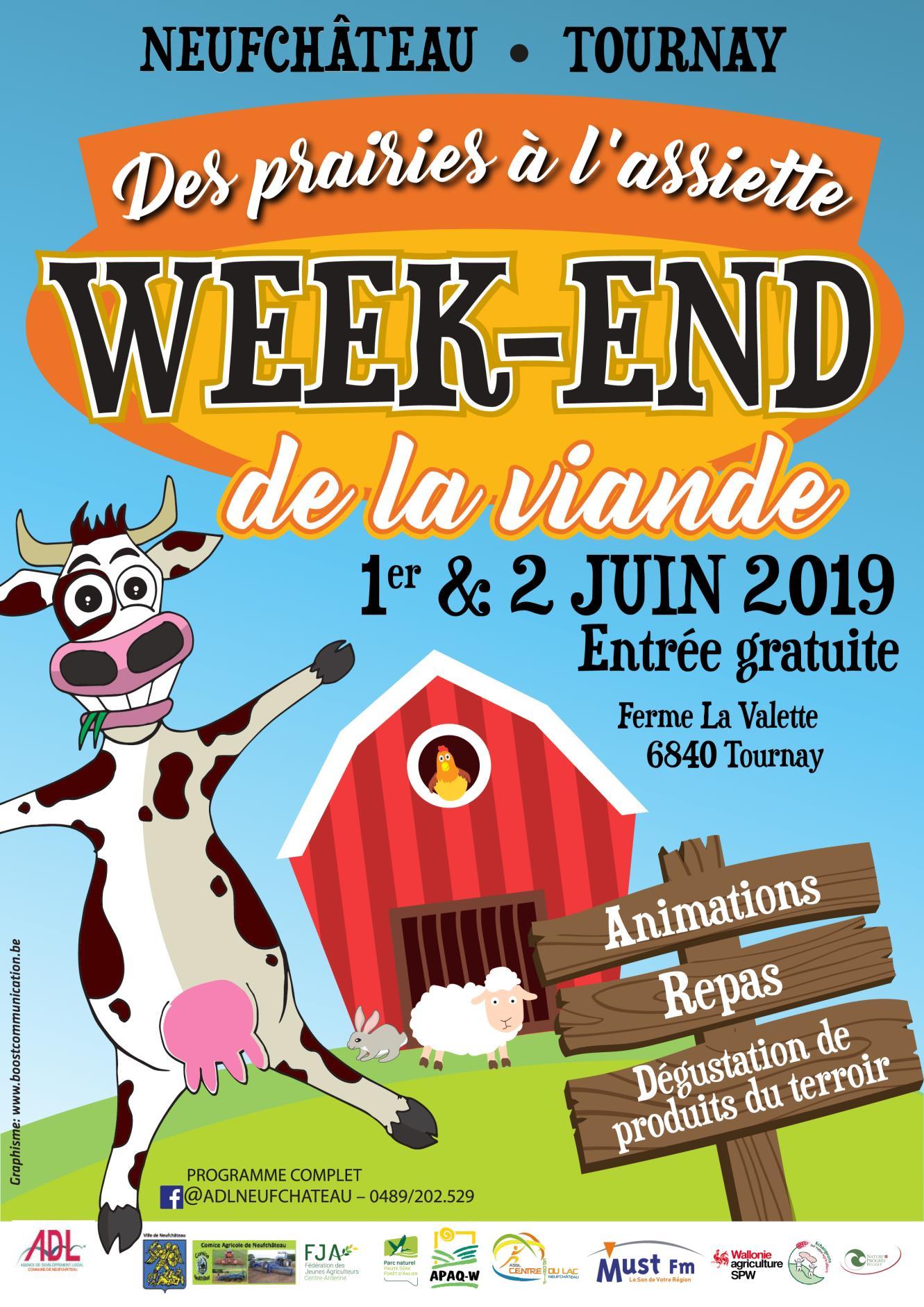 Week-end de la viande à Neufchateau