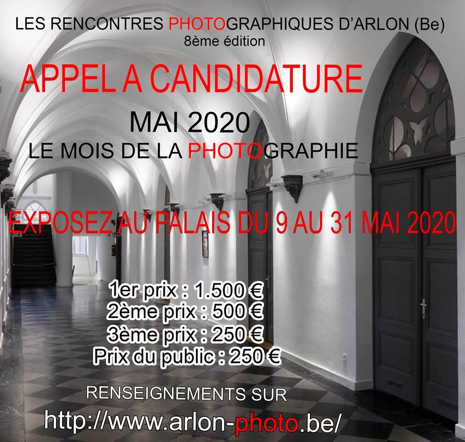 Voulez vous exposer vos photos aux  Rencontres Photographiques d'Arlon ?