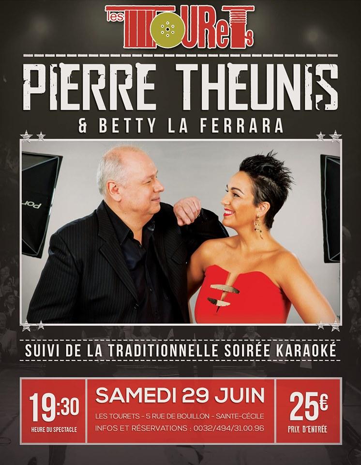 Pierre Theunis et Betty La Ferrara ( Duo humoristique ) aux Touret à St Cécile