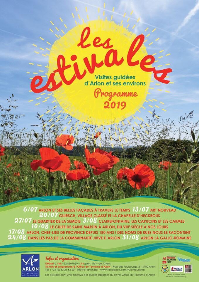 Les estivales à Arlon 2019