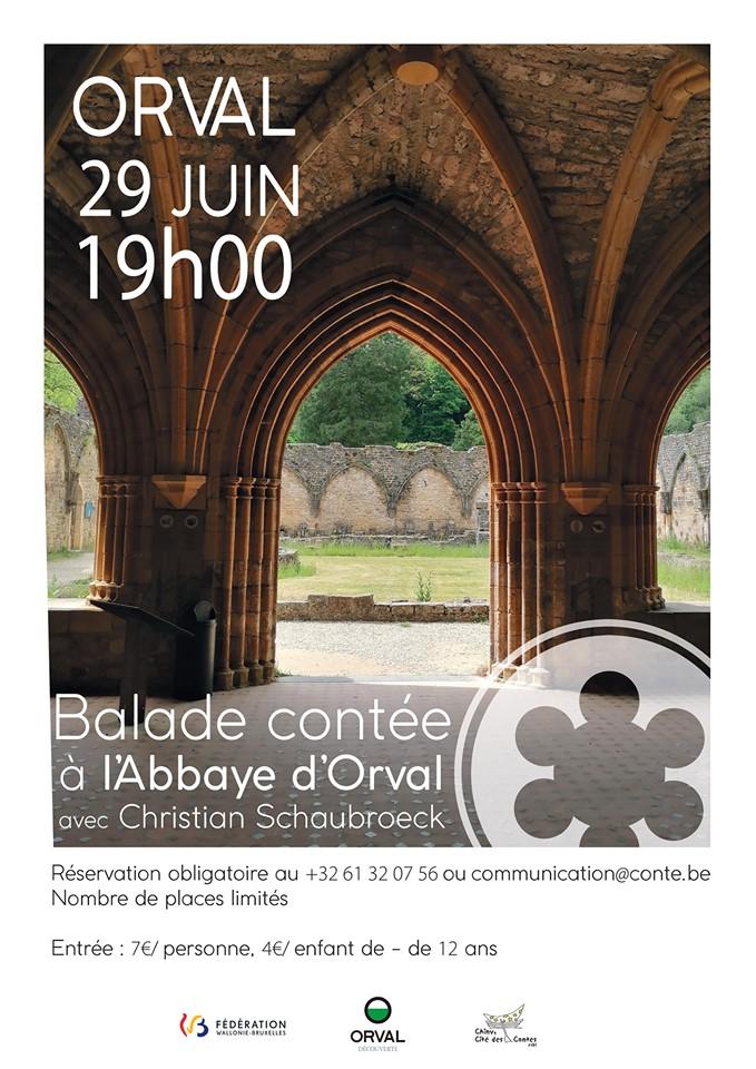 Balade contée à l'Abbaye d'Orval