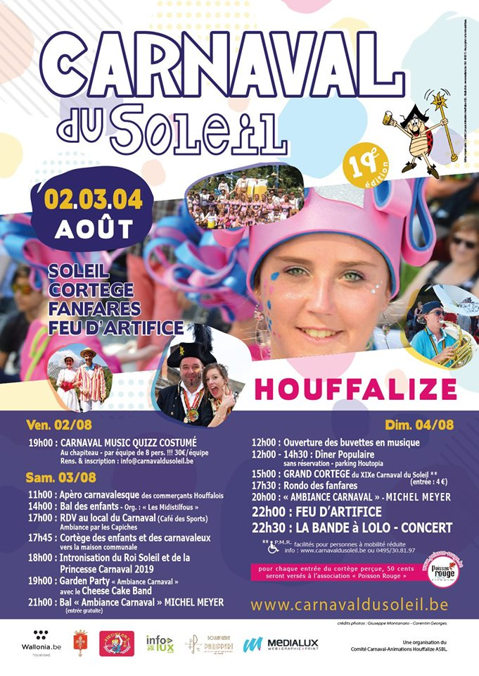 Carnaval du soleil 2019 Houffalize