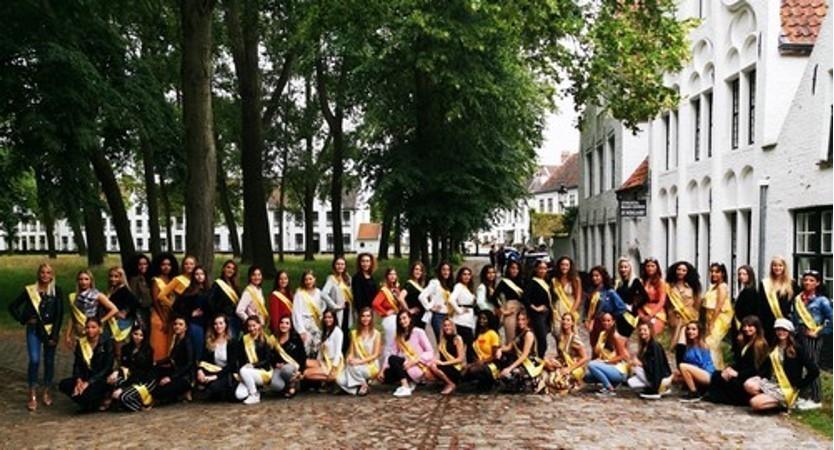 Découvrez les Miss Luxembourg à Bruges
