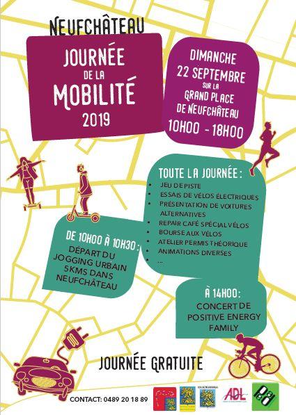 Semaine européenne de la mobilité en province de Luxembourg – Neufchateau