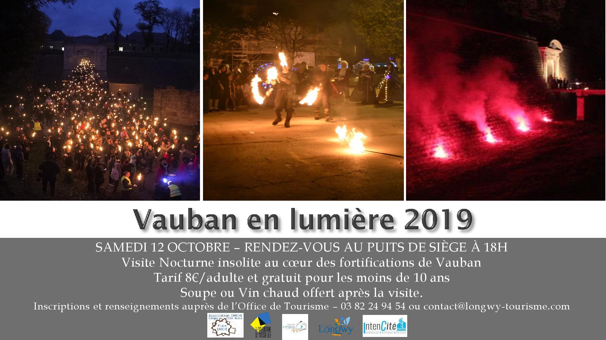 vauban lumiere 2019 – Longwy FR