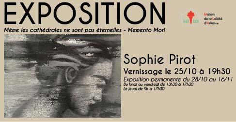 Sophie Pirot A la Maison de la Laïcité d'Arlon