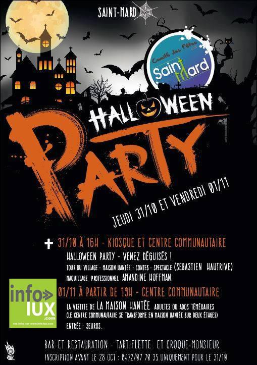 Halloween Party à Saint-Mard - Virton