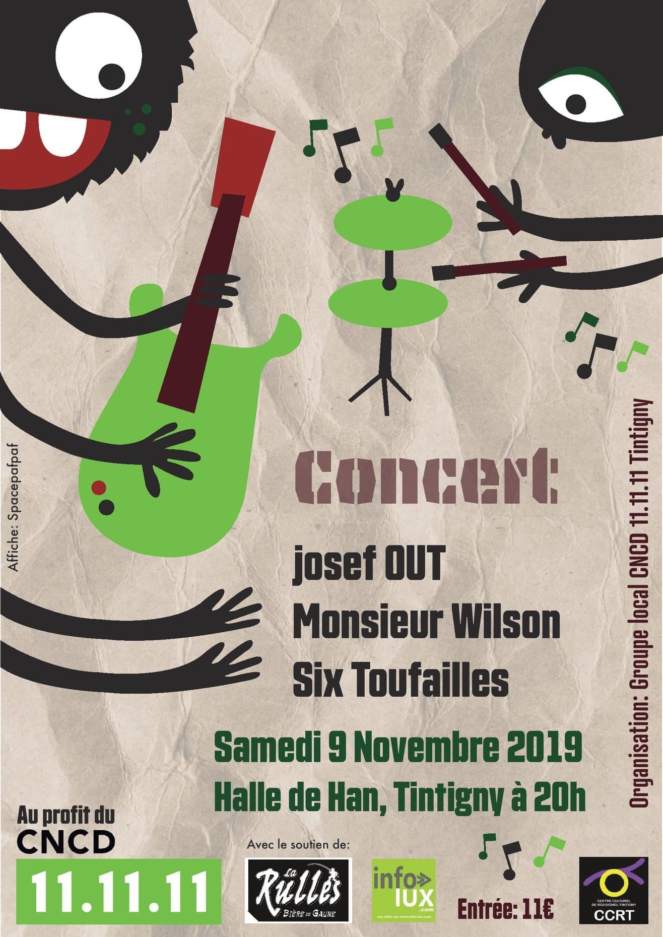 Tintigny : concerts rock