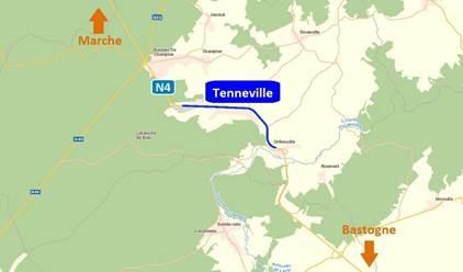 N4: Réhabilitation et sécurisation de la traversée de Tenneville