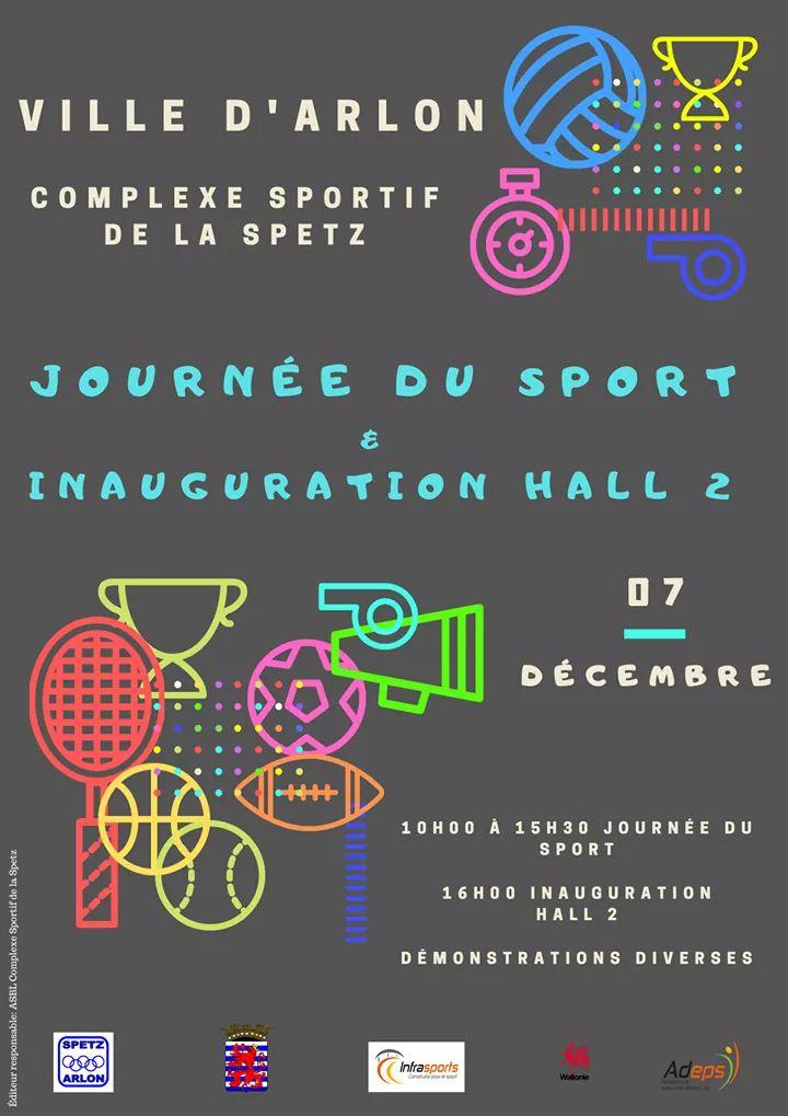 Inauguration du hall 2 du complexe sportif de la Spetz