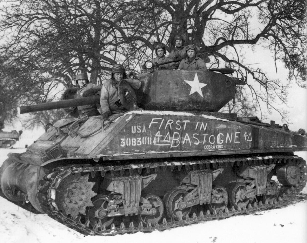 Sur les traces du Général Patton – Arlon -Bastogne