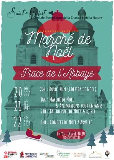 Marché de Noël àSaint-Hubert