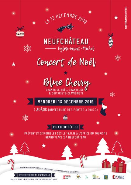 Concert de Noël à Neufchâteau.