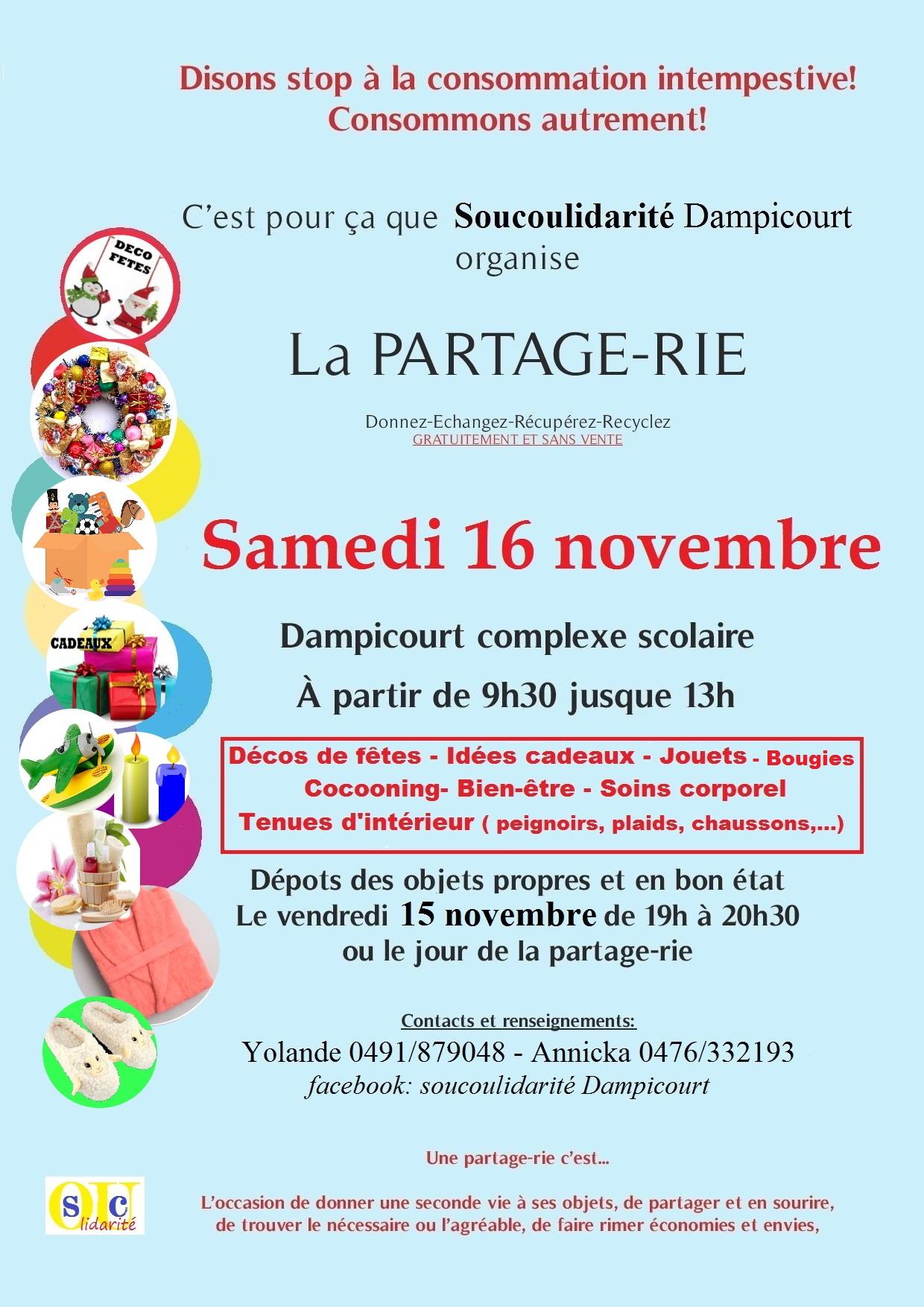 une Partage-Rie à Dampicourt